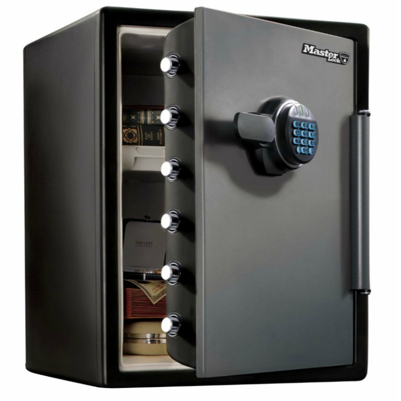 Master Lock Digital Fire/Water Safe SML-LFW-205FYC