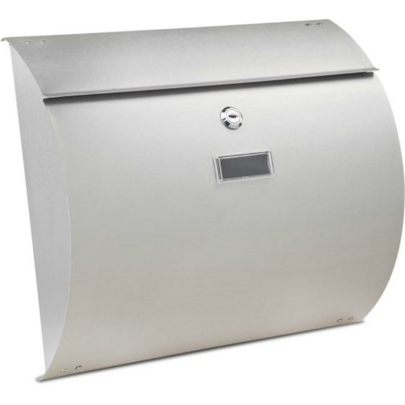 Convex -  Stainless Steel Post Box