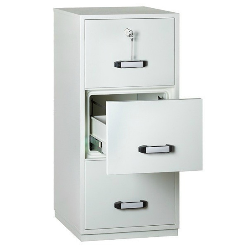 Insafe 3 Drawer 2 Hour Fire Resistant Filing Cabinet