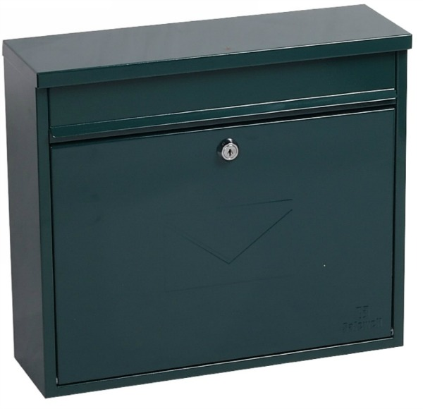 Phoenix Correo Green Front Loading Mail Box