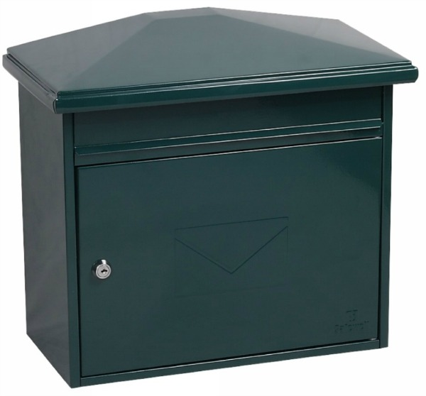 Phoenix Libro Green Front Loading Mail Box