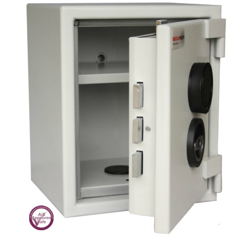 SECURIKEY  Euro Grade 0 015CF Freestanding Safe Electronic Lock