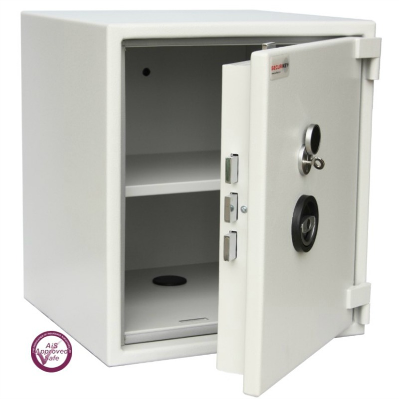SECURIKEY Euro Grade 0 085K Freestanding Safe with Key Lock