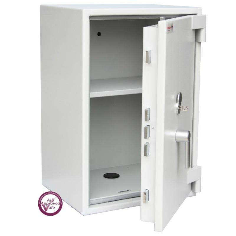 SECURIKEY  Euro Grade 0 095K Freestanding Safe with Key Lock