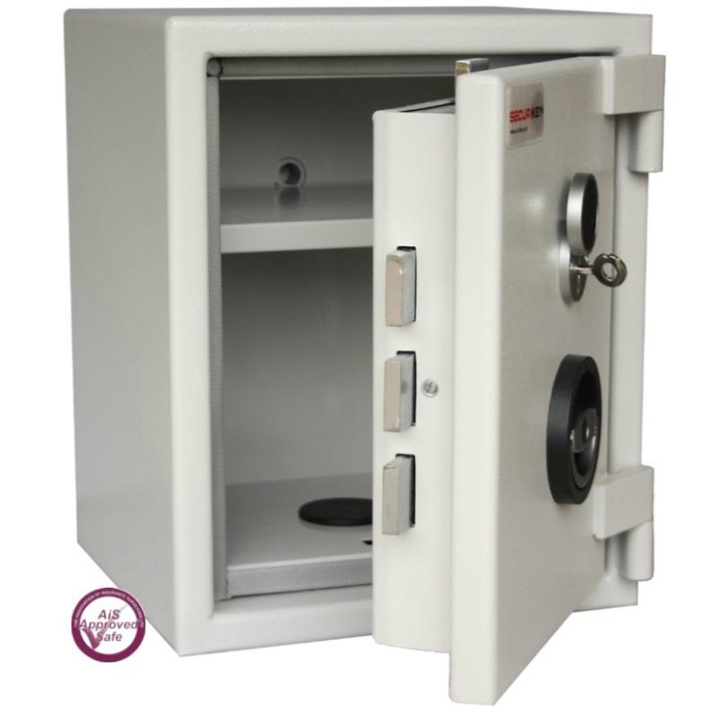 SECURIKEY  Euro Grade 1 035N Freestanding Safe with Key Lock