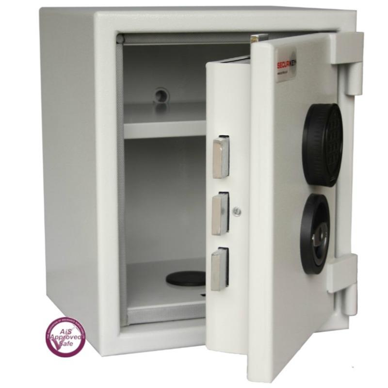SECURIKEY  Euro Grade 1 035N Freestanding Electronic Lock