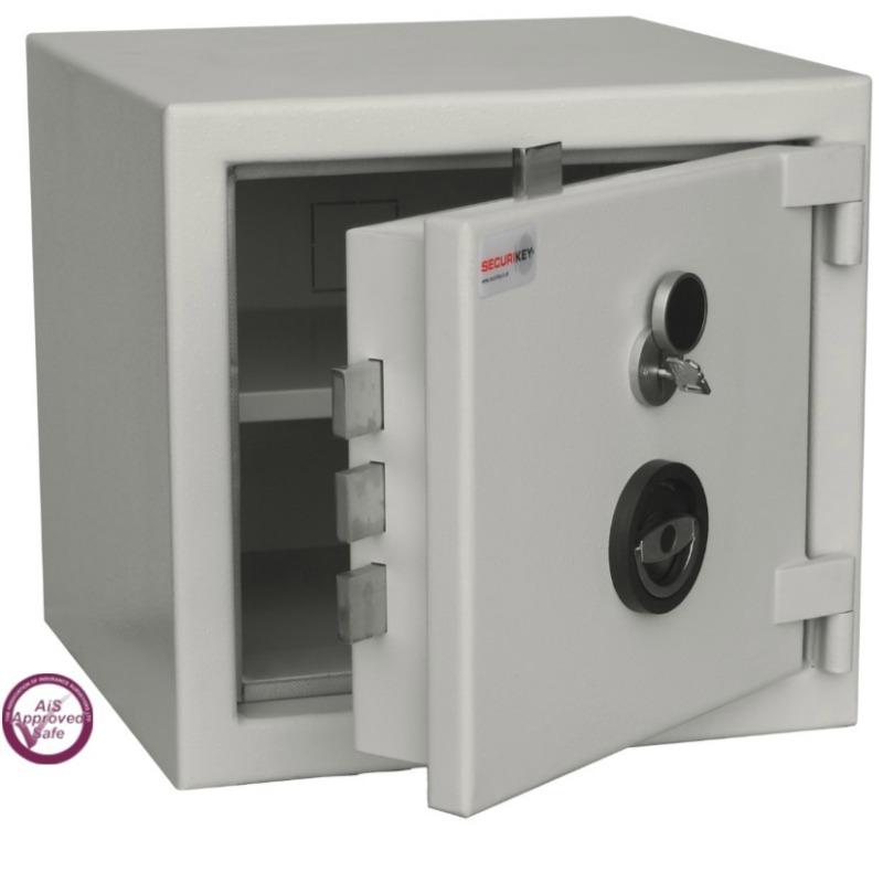 SECURIKEY  Euro Grade 2 040N Freestanding Safe with Key Lock