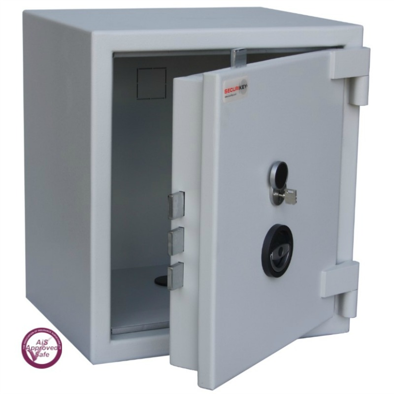 SECURIKEY  Euro Grade 2 070N Freestanding Safe with Key Lock