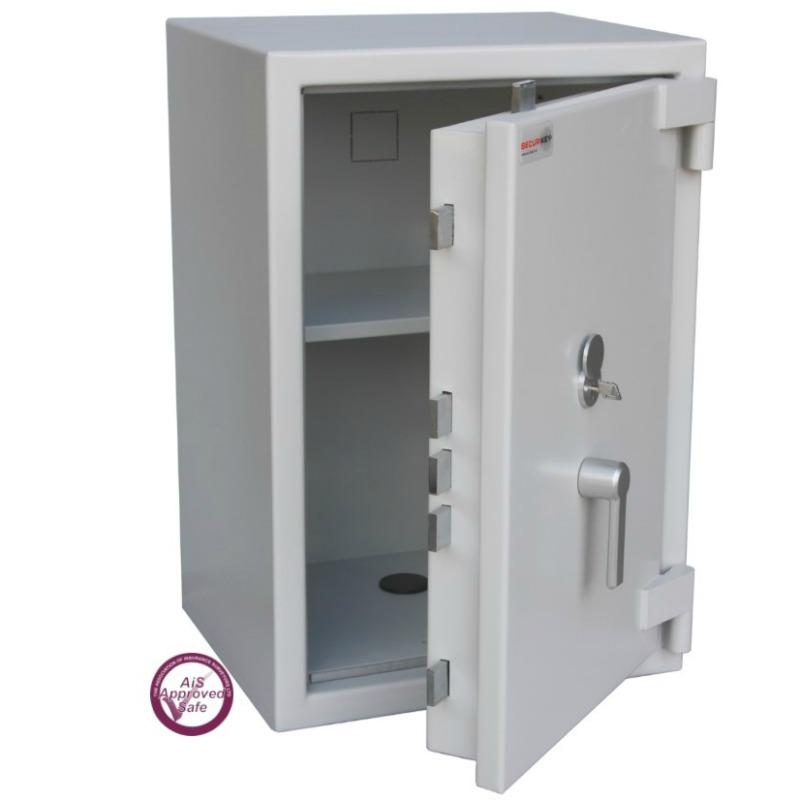 SECURIKEY  Euro Grade 2 095N Freestanding Safe with Key Lock