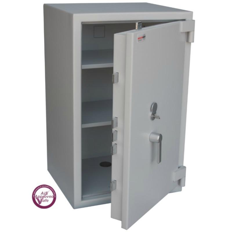SECURIKEY  Euro Grade 2 175N Freestanding Safe with Key Lock