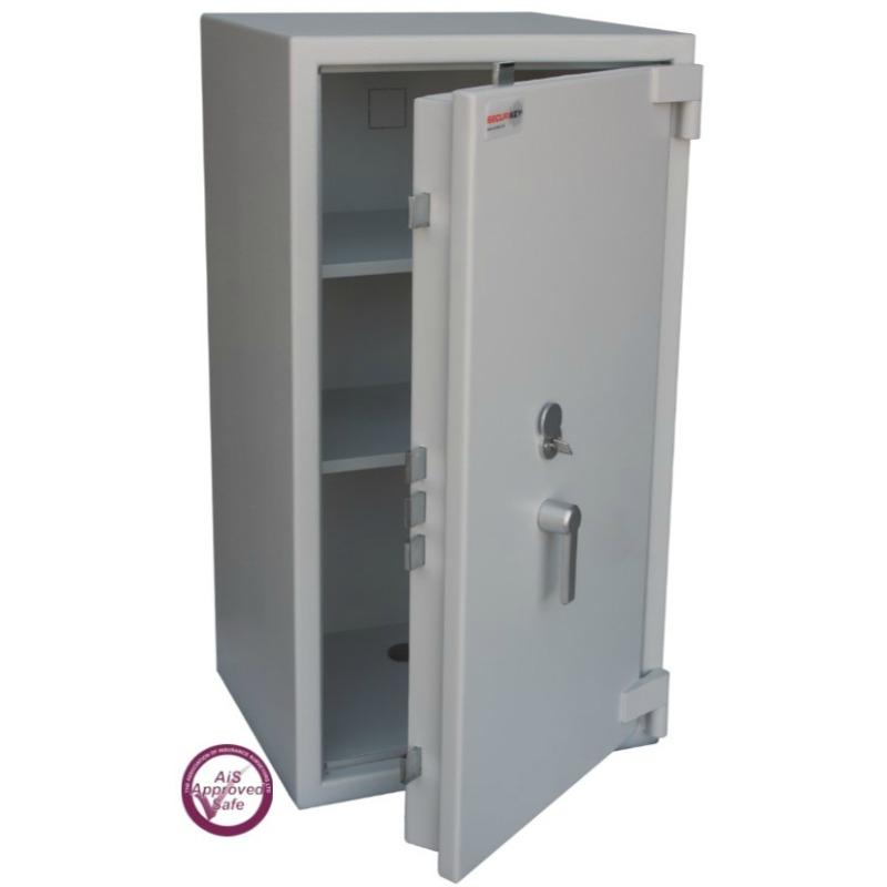 SECURIKEY  Euro Grade 2 215N Freestanding Safe with Key Lock