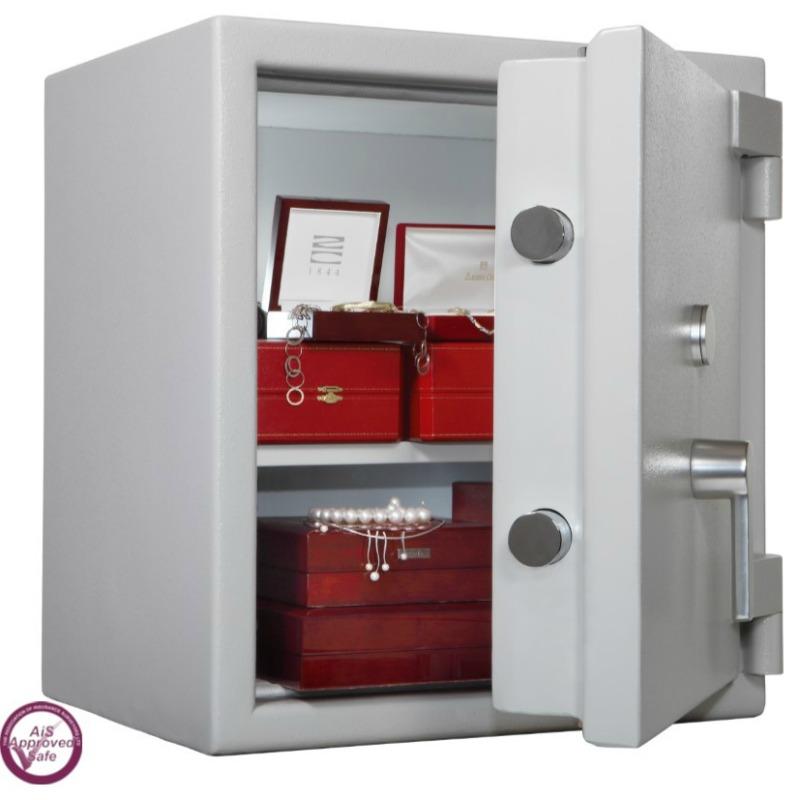 SECURIKEY  Euro Grade 3 070N Freestanding Safe with Key Lock