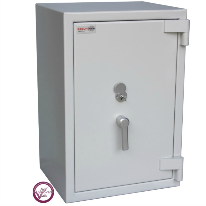 SECURIKEY  Euro Grade 3 095N Freestanding Safe with Key Lock