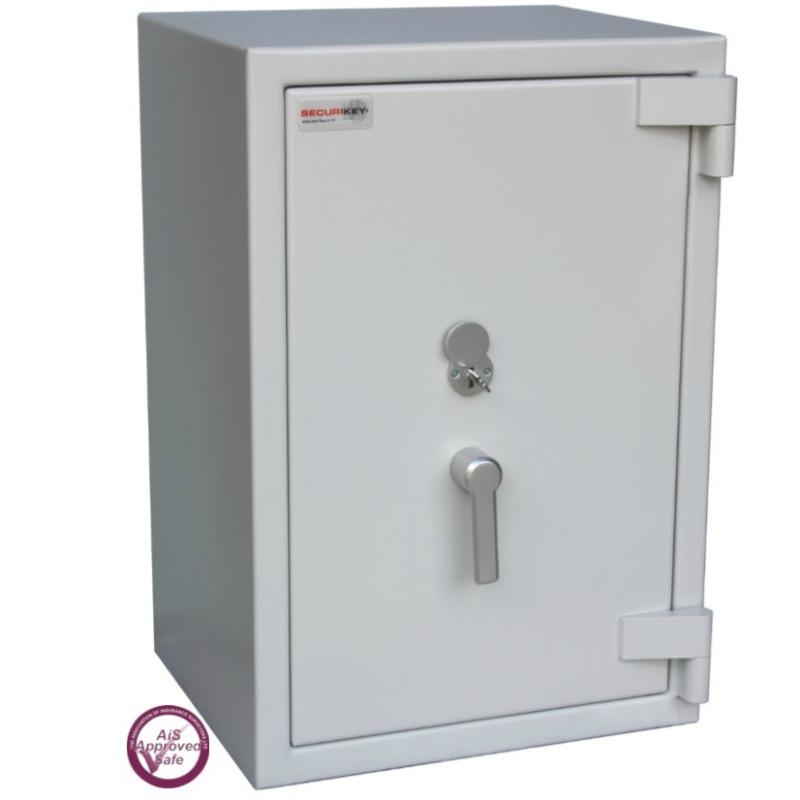 SECURIKEY  Euro Grade 3 095N Freestanding Safe with Key Lock