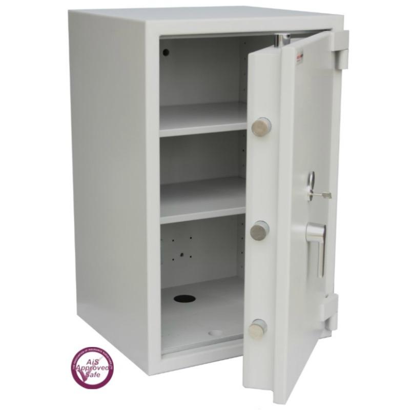 SECURIKEY  Euro Grade 3 175N Freestanding Safe with Key Lock