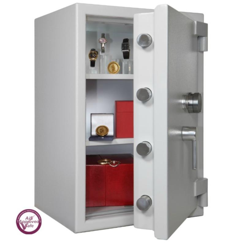 SECURIKEY  Euro Grade 4 095N Freestanding Safe Dual Locking