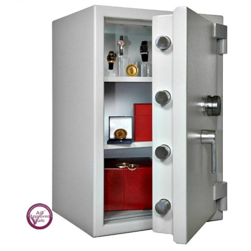SECURIKEY  Euro Grade 4 395N Freestanding Safe Dual Locking
