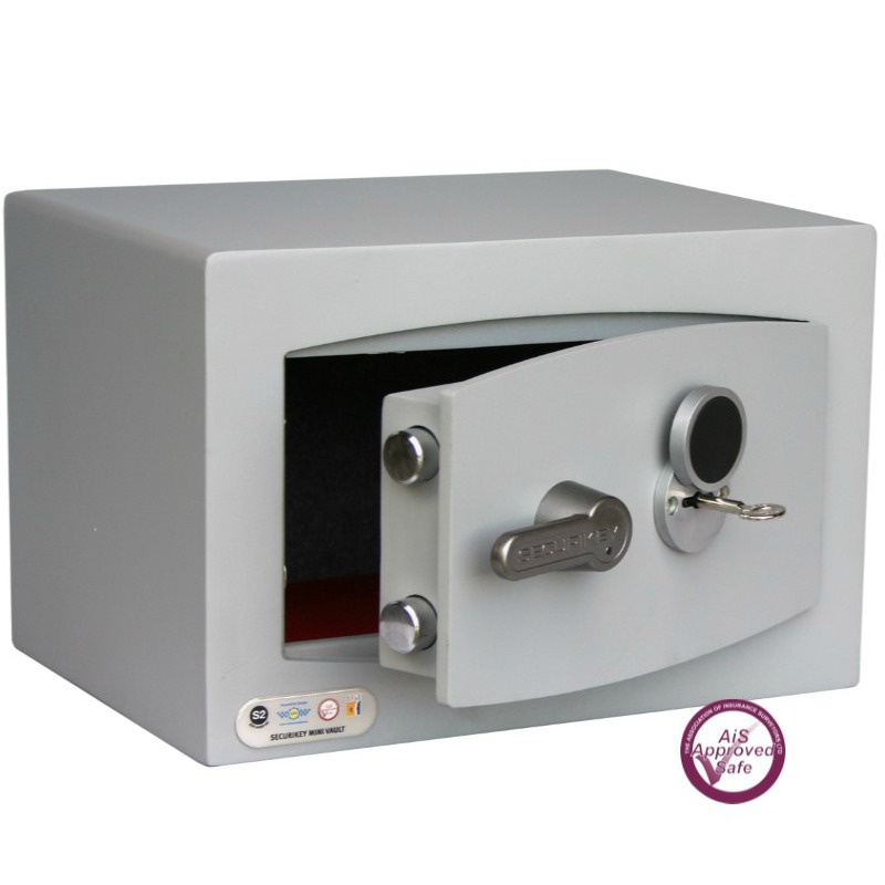 SECURIKEY  Mini Vault Silver 0K