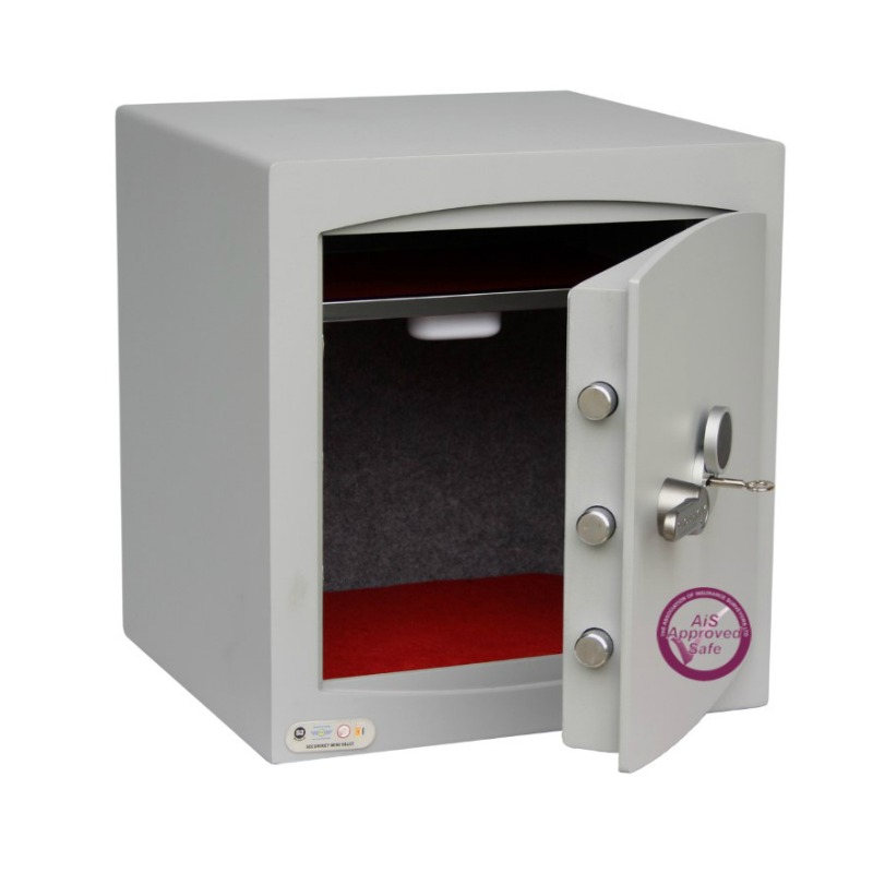 SECURIKEY  Mini Vault Silver 3 Key Locking