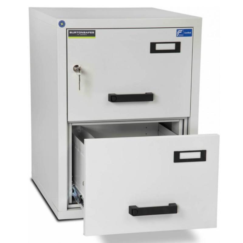 Burton 2 Drawer  K Fire Resistant Filing Cabinet