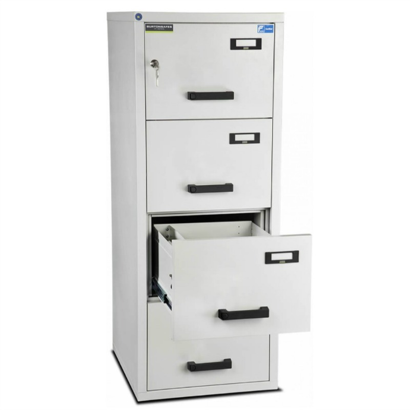 Burton 4 Drawer K Fire Resistant Filing Cabinet