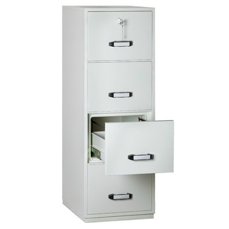 Insafe 4 Drawer 1 Hour Fire Resistant Filing Cabinet