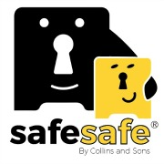 Safesafe – For a Safe, Lock or Key Cabinet Logo