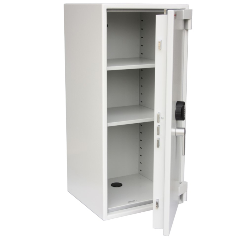SECURIKEY  Euro Grade 1 180N Freestanding Safe with Electronic  Lock