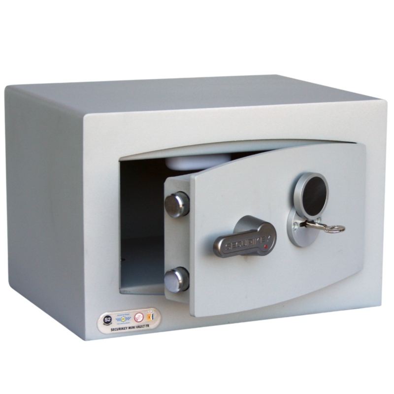 SECURIKEY  Mini Vault Gold O FR  Key Locking Safe