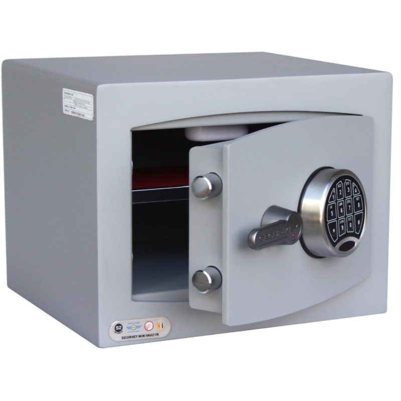 SECURIKEY  Mini Vault S2 Gold FR 1 Electronic Locking