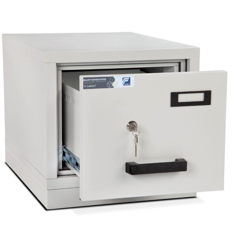 Burton 1 Drawer  K  Fire Resistant Filing Cabinet