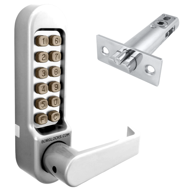 BORG LOCKS BL5401 Digital Lock With Inside Handle And 60mm Latch.