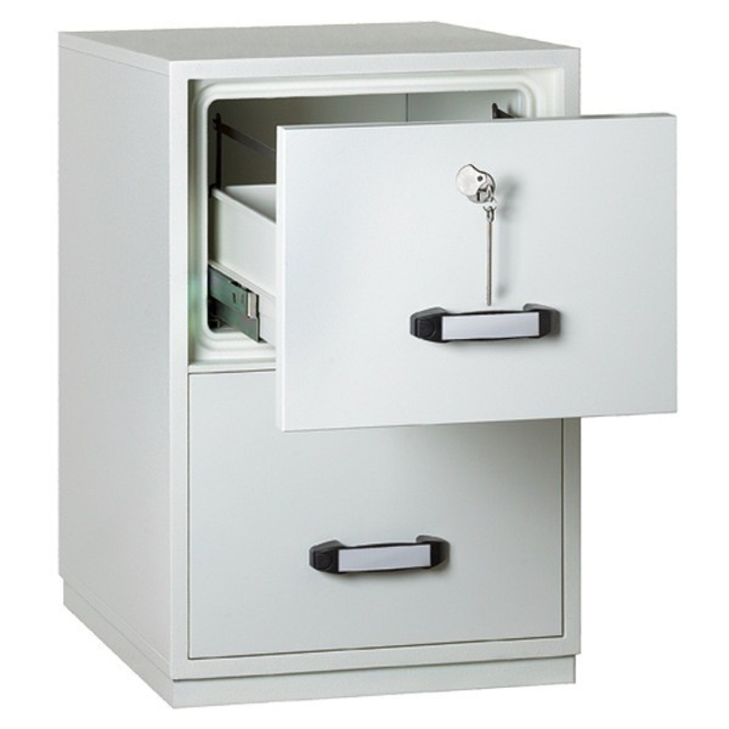 Insafe 2 Drawer 1 Hour Fire Resistant Filing Cabinet