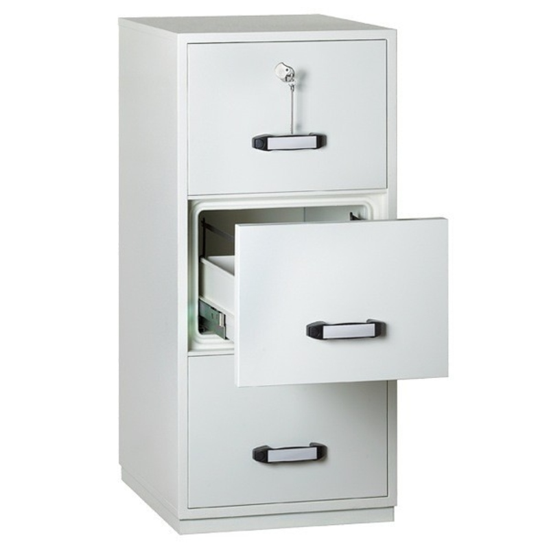 Insafe Fire Resistant Filing Cabinet 3 Drawer. 2 Hour Rating