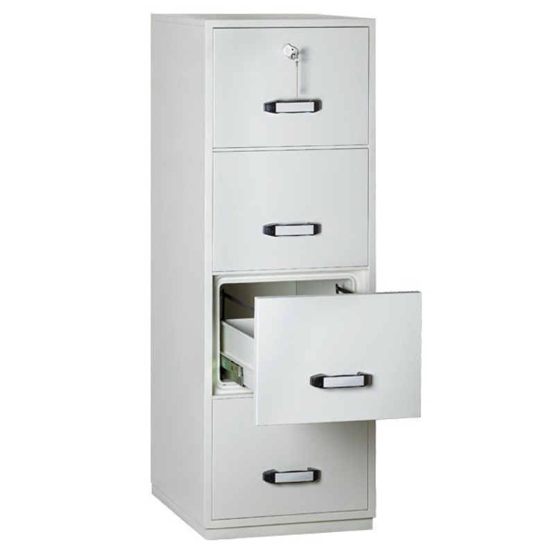 Insafe Fire Resistant Filing Cabinet 4 Drawer 2 Hour Rating