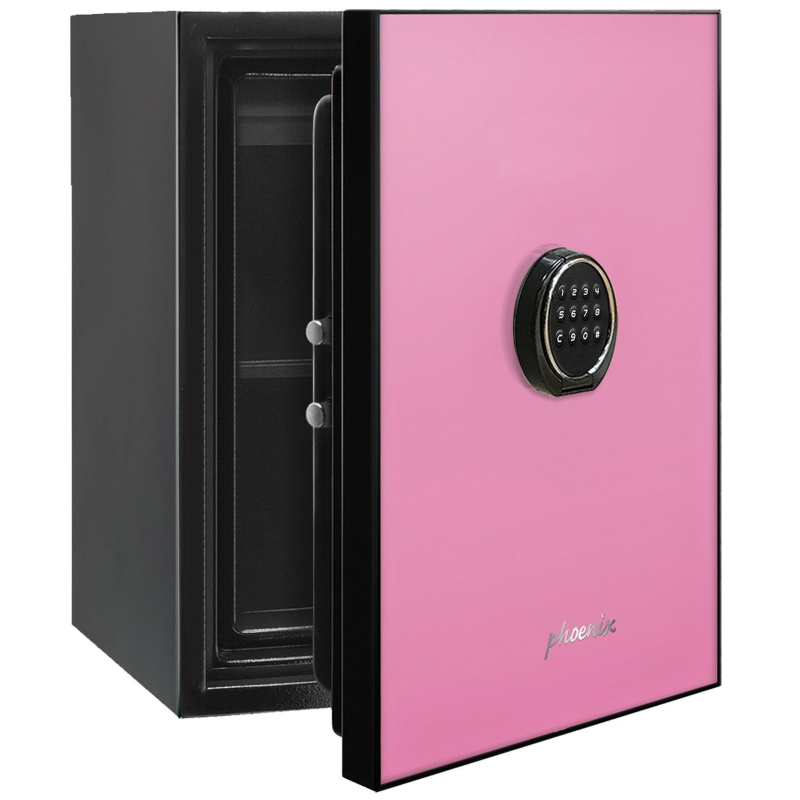 Phoenix Spectrum LS6001EP Luxury Fire Safe with Pink Door Panel and Electronic Lock