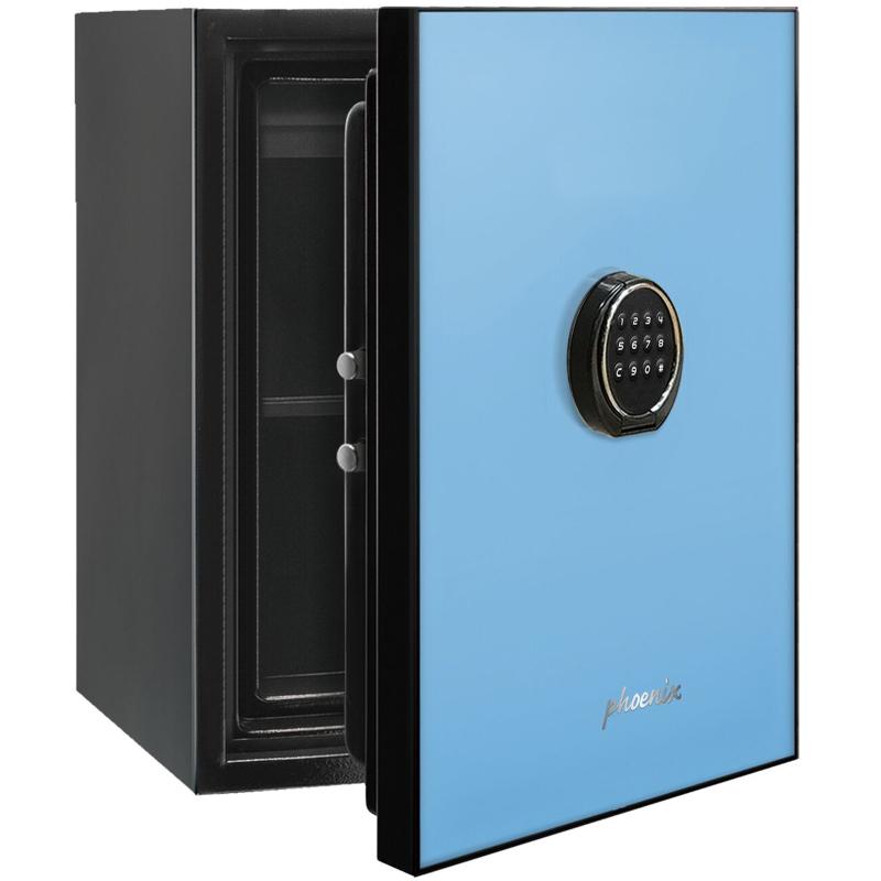 Phoenix Spectrum LS6001EB Luxury Fire Safe with Blue Door Panel and Electronic Lock