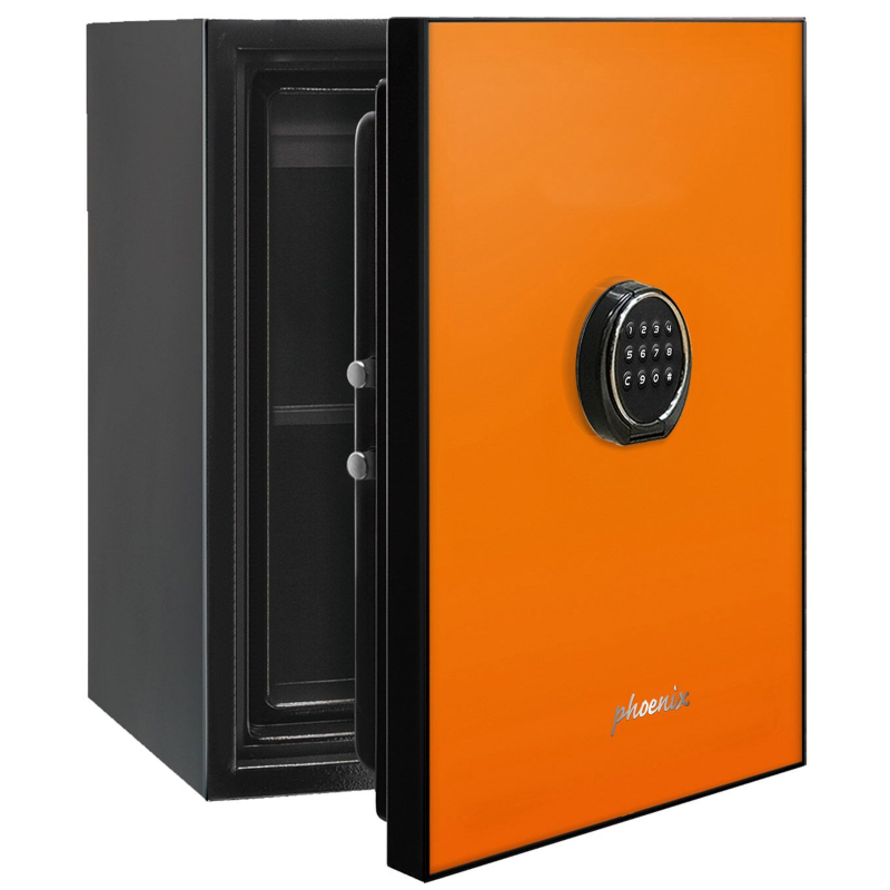 Phoenix Spectrum LS6001EO Luxury Fire Safe with Orange Door Panel and Electronic Lock