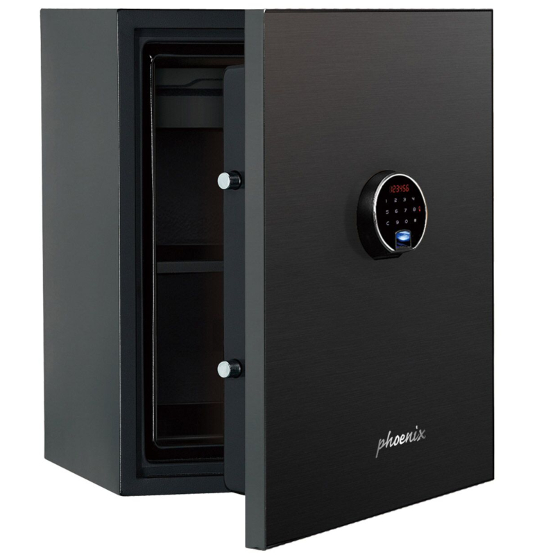 Phoenix Spectrum Plus LS6011FB Size 1 Luxury Fire Safe with Black Door Panel and Electronic Lock