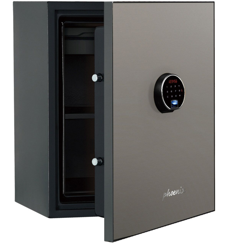 Phoenix Spectrum Plus LS6011FS Size 1 Luxury Fire Safe with Silver Door Panel and Electronic Lock