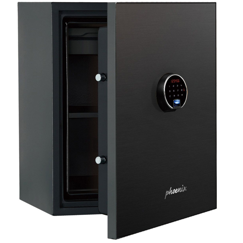 Phoenix Spectrum Plus LS6012FB Size 2 Luxury Fire Safe with Black Door Panel and Electronic Lock