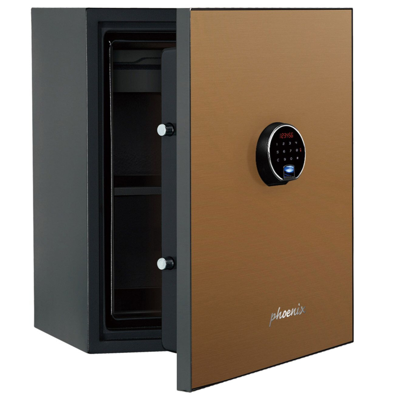Phoenix Spectrum Plus LS6012FG Size 2 Luxury Fire Safe with Gold Door Panel and Electronic Lock
