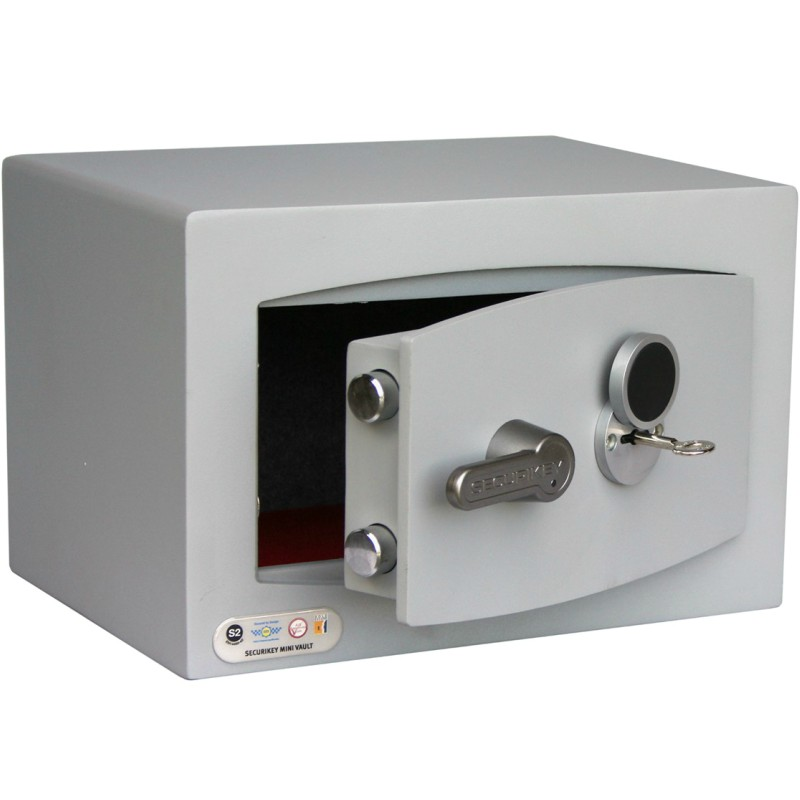 SECURIKEY  MINI VAULT S2 SILVER 0 KEY LOCKING