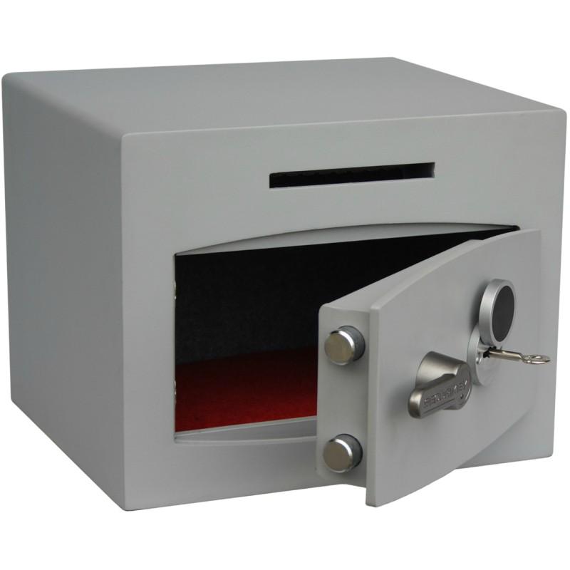 SECURIKEY  Mini Vault Deposit Silver 1 Key locking