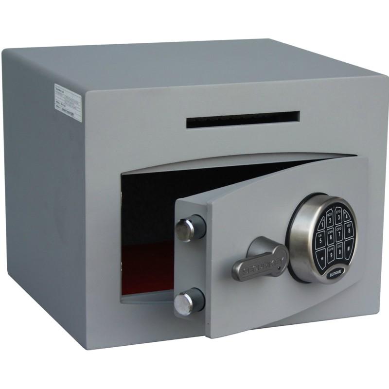 SECURIKEY Mini Vault Deposit Silver 1 Electronic