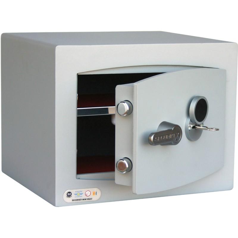 SECURIKEY  Mini Vault Silver 1  Key Locking