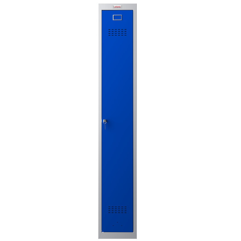 Phoenix  1 Door Blue Personal Locker