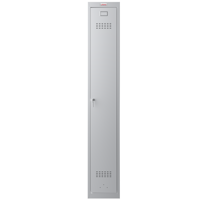 Phoenix 1 Door Grey Personal Locker