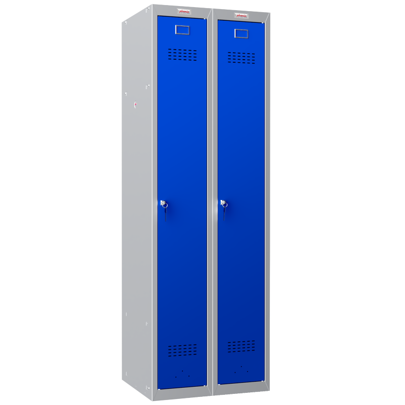 Phoenix 2 Column 2 Door Blue Personal Locker