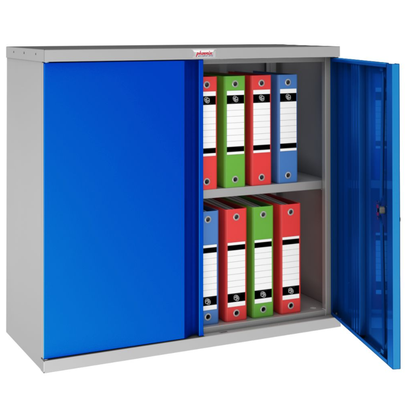 Phoenix SCL Steel Storage Cupboard Blue
